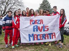 Gruppo Avis Macerata alla Festa del Cross 2016 di Gubbio