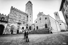 (Simone Vanelli) Tags: italy tower san italia gimignano bn tuscany toscana bianco nero medieaval