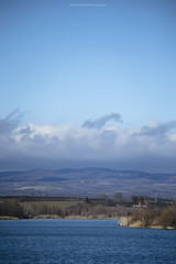 (Katarina Drezga) Tags: blue mountain lake nature clouds vojvodina srbija fruskagora srem borkovac nikond3100 nikkor55300mm4556gvr borkovackojezero