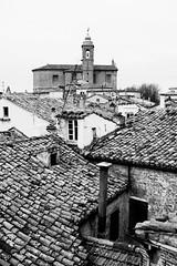 I tetti di Montecarotto (Gabriele Mas) Tags: bw tetti bianconero marche biancoenero vallesina montecarotto
