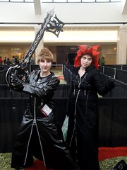 Roxas & Axel (Wrath of Con Pics) Tags: cosplay axel kingdomhearts roxas animeweekendatlanta awa2012