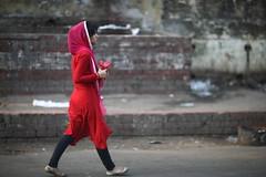 دختر (N A Y E E M) Tags: street morning red portrait girl raw candid unposed untouched bangladesh carwindow unedited chittagong دختر sooc panchlaish