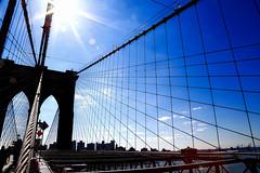 Always worth a Walk (ISO 69) Tags: nyc bridge newyork architecture brooklyn elements brooklynbridge brücke brücken