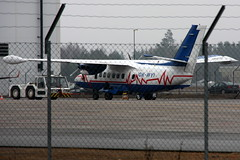 Czech Aviation Authority OK-WYI, OSL ENGM Gardermoen (Inger Bjrndal Foss) Tags: norway czech aviation authority osl gardermoen engm l410 letadla uvpe okwyi