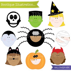 Halloween Clipart. Halloween Kids Clipart. Halloween Clip Art. Halloween Costumes Clipart. Halloween Kids Clip Art. Halloween Digital (bootiqueillustration) Tags: party art halloween kids digital scrapbooking design costume dress or clip card commercial clipart fancy use treat trick tick etsy vector digtial etsyuk cardmakng bootiqueillustration