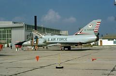 USAF, Convair F-106B Delta Dart (Ron Monroe) Tags: usaf interceptor convair unitedstatesairforce f106 deltadart tyndalafb 072508 williamtell1972