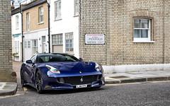 TDF (Alex Penfold) Tags: blue london cars alex car super ferrari autos supercar spotting supercars f12 tdf penfold 2016 f12tdf