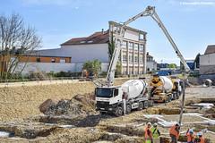 Mercedes-Benz Actros 3240 (Alexandre Prvot) Tags: construction construccin lorraine worksite buildingsite travaux chantier cugn grandnancy baustellebauplatz