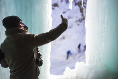 IMG_4074-1 (Domini Brown) Tags: park people ice minnesota portraits wonder outside outdoors togetherness climb frozen waterfall state north minneapolis falls adventure explore kindness candids minnehaha