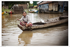 floating village (Mauro Fattore - Dreams Photo Art) Tags: street travel people colors asian village floating cambogia