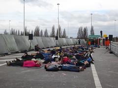 """Rotterdam: """"Kleinpolderpleinpark"""" (harry_nl) Tags: netherlands rotterdam highway nederland flyover snelweg a13 2016 silentsky kleinpolderplein robsweere"""