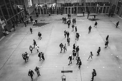 Paris, Les Halles II 2016 (hp chavaz) Tags: street urban blackandwhite bw paris france monochrome blackwhite fuji fav50 selection fujifilm leshalles fav10 v5000 fav25 fav100 explored fav150 fav75 xpro1 xf18mm