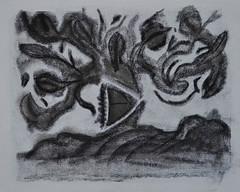 ARBOL CHINO (coachingparalatinos) Tags: flores blanco libertad arte negro colores lengua oriental abstracto creatividad modernismo pintor pintura chino tierra genio locura raiz rostros carboncillo demente imaginacion psicoanalisis evaristocarranza