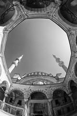 Nur-u Osmaniye Mosque (BOYABADANACI) Tags: architecture turkey istanbul mosque islamic architecturalphotography nuruosmaniyemosque