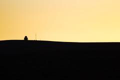 day end (smikobus) Tags: sunset landscape telescope sutherland minimalistic