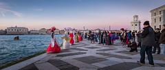 Photographing Models on San Giorgio Maggiore (Kayla Stevenson) Tags: venice costume model piazza sangiorgiomaggiore