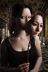 Behind the Pallid Mask (skullbone76) Tags: halloween portraits finland cosplay cthulhu horror terror macabre kuopio hastur compositephotography horrormovies