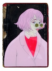 Pretty in Pink (christopher hayes artist) Tags: pink art book pretty pop cover hayes chritopher