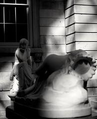 MET sculptures (LucasHE) Tags: light blackandwhite sculpture usa newyork art lightandshadows shadows manhattan sony highcontrast met a7 uppereastside metropolitanmuseumofart a7ii
