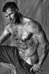 DIRTY (Violentz) Tags: portrait man male guy mud body bodybuilding dirty dirt bodybuilder fitness muddy physique patricklentzphotography