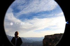 JC, GC (najuaasad) Tags: arizona sunrise grandcanyon fisheye