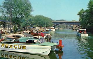 Oakville Inner Harbour 1960