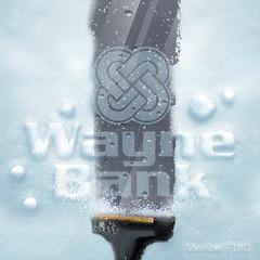 Snow Profile Pic For Social Media (Justin Roach Work Stuff) Tags: winter snow advertising design graphicdesign bank batman scranton nepa brucewayne honesdale 570 waynebank