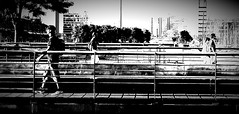 over the footbridge (rocami19) Tags: leica dlux5