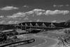 Viaduc de Millau - Rodez (12) (JHP Photographies) Tags: road bridge blackandwhite architecture canon landscape n pont ontheroad millau viaduc aveyron 7dmarkii canon7dmarkii summer2015 lightroom6 photoshopcc2015