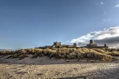 Bamburgh Castle, Northumberland. (MarkWoods2) Tags: castle beach seaside cliffs northumberland bamburgh bamburghcastle