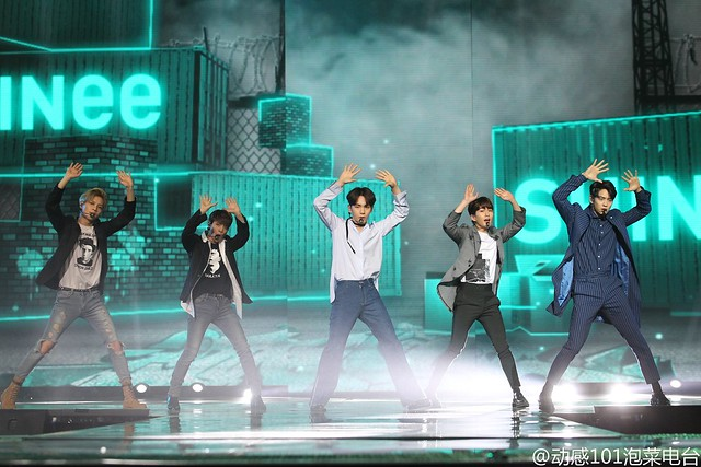 160328 ‎SHINee @ '23rd East Billboard Music Awards' 26126151825_acfc90e901_z
