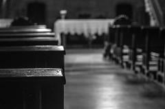 Dark Faith   ///   Fe Oscura (Walimai.photo) Tags: bw espaa white black byn blanco church branco bench spain nikon noir negro banco iglesia preto blanc helios guipzcoa getaria guetaria 44m4 d7000