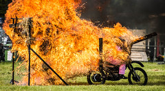 52-17 (Rich Byham) Tags: show fire nikon display flames motorbike d610 stuntmania