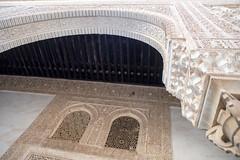 Love lift us up where we belong (OR_U) Tags: art wall architecture writing spain pov ceiling lookup ornaments alhambra granada oru 2016 joecocker
