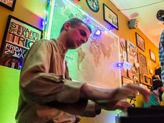Aleks Podraza leading his quintet (Briggate.com) Tags: music gig livemusic jazz gigs keyboards cafelento caflento april1520160959
