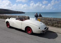 sunbeam alpine mark III 8 (smallritual) Tags: 1955 car alpine 1950s stives sunbeam markiii