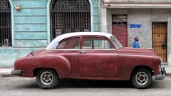 CUBA La Habana Centro V (stega60) Tags: street city calle mujer cuba centro center oldcar lahabana cocheantiguo stega60