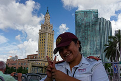 Eliana i Freedom Tower w tle | Eliana and Freedom Tower in backgraund