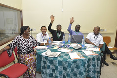 Staff at the cassava breeding team building workshop (IITA Image Library) Tags: workshop breeding nigeria teambuilding cassava ibadan manihotesculenta