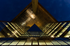 Triangles (andy_grundy) Tags: abstract london tower triangles gold height pentaxk5