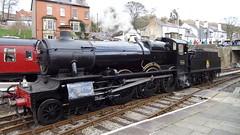 GWR 7800 Manor Class 4-6-0 (Milton00147) Tags: railroad llangollen gwr steamlocomotives manorclass