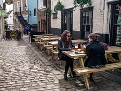 A Quiet Pint (Silver Machine) Tags: street people lumix pub women outdoor candid streetphotography streetportrait windsor pint berkshire alfresco lager lumixg lumixg20mmf17 lumixg5