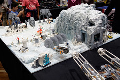 INSIDE the BRICK Darebin 2016: Rebel Base on Hoth (Andrew D2010) Tags: starwars lego base hoth iceplanet rebelbase insidethebrick darebinartsentertainmentcentre