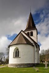 Linde kyrka (church), Gotland, Sweden (Bochum1805) Tags: church medieval kyrka puts medeltid kyrktorn