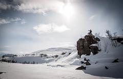 snowmobile (VesaPeltonen) Tags: snowmobiling