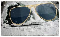 Brille fr's Auto (1snomi1) Tags: auto schnee augen draussen scheibenwischer windschutzscheibe