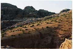 (tayn3) Tags: film analog 35mm landscape desert kodak donkeys petra middleeast olympus jordan arabia 100 analogue olympusom2 epic bedouin ektar 100iso olympusom2n finegrain kodakektar ektar100