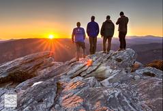 Sunset on Hawksbill Mountain (cathyandersonphoto) Tags: sunset mountains northcarolina linvillegorge westernnc ncmountains linvilleriver hawksbillmountain