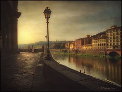 Morning in Florence. (odinvadim) Tags: morning travel italy painterly landscape spring artist textures textured iphone iphoneart iphoneography iphoneonly snapseed mytravelgram editmaster painterlymobileart