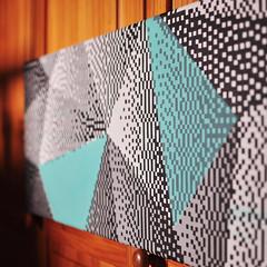 Triangolazioni  Acrilici su tela, 30x90cm (.krayon) Tags: triangles pixel pixelart triangulation graphism canvasart krayon customcanvas